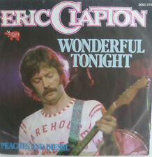 "7"" 1977 IN MINT- ! ERIC CLAPTON : Wonderful Tonight / Peaches & Diesel"