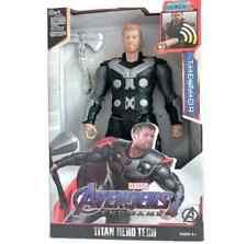 """30cm 12"""" Thor Avengers Endgame Super Hero Action Figure Sound Light Toy Kid Gift"""