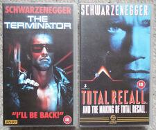 Action & Adventure Arnold Schwarzenegger VHS Films