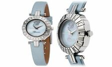NEW Bluemarine 3151L Womens Mother Of Pearl Watch Blue Swarovski blumarine MOP