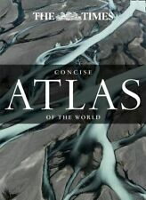 NEW The Times Concise Atlas Of The World By Times Atlases Hardcover