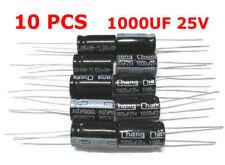 10pcs 1000UF 25V LOW ESR Radial Electrolytic Capacitor Computer Motherboard