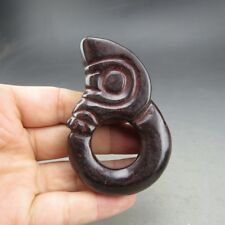 Chinese jade,noble collection,manual sculpture,jade, pig dragon,pendant K0229
