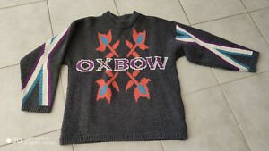 RARE Pull Hiver OXBOW Vintage 90's Rare ! A must have ! Thick Winter Pullover