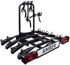 EUFAB Amber 4 Fahrradträger für 4 Fahrräder KFZ Heckträger Anhängerkupplung AHK