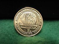 Beautiful INDIANA GAMING CO. 25 Cent Slot Machine Game Token  Lawrenceburg, Ind.