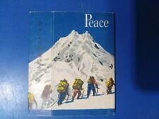 1960s Japan memorial Empty cigarette hard mini pack -70 mm-Peace-10 cigarettes