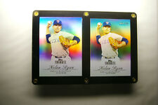 ** RARE ** (2) Nolan Ryan Chrome Tribute Baseball Cards #259 / 299 Mets Angels