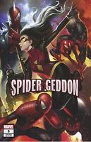 Spider-Geddon #5 Spider-man In-Hyuk Lee Variant Marvel Comic 1st Print 2018 NM