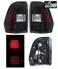 TIFFIN ALLEGRO BUS 2004 2005 2006 PAIR LED BLACK TAIL LAMPS TAILLIGHTS RV - SET