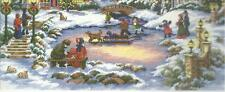 Dimensions Gold, A TREASURED TIME,Christmas Counted XStitch Kit,8569,Sealed,USA!