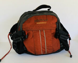 Marmot Red Walkabout Trail Hiking Belt Bag Fanny Pack Back Ruck Pack