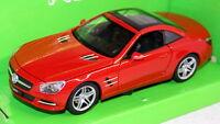 Nex Models 1/24 Scale - 2012 Mercedes Benz SL500 R231 Red Diecast model car