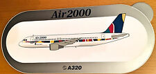 AIR 2000, A320, Sticker, Aufkleber, High Quality, neu/new, TOP & SELTEN !!!