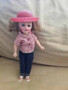 Ideal Little Miss Revlon Tagged Blue Jeans & Shirt Tag Outfit ~COMPLETE no doll