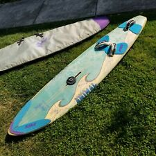 "Vintage 1990s Gorge Animal 7'9"" Windsurfing Board + Case Les Crichton Bonzer"