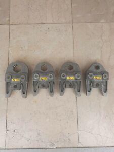 Rems press jaws m35 m28 m22 m15 BRAND NEW SET