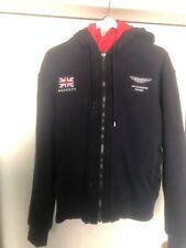 Aston Martin Racing Hackett Padded Hoodie Jacket Mens Size Small