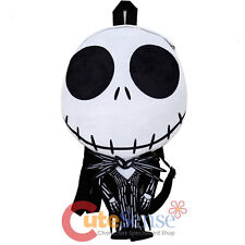 "Nightmare Before Christmas Jack Plush Doll Backpack 18"" Flat Plush NBC Bag"
