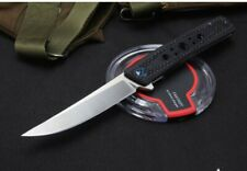 New Assisted Opening D2 Blade Steel Semi-Carbon Fiber Handle Folding knife DF165