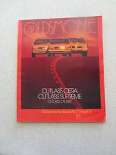 2000 Oldsmobile Alero Car advertising booklet - Olds USA ----
