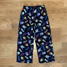 MARVEL AVENGERS Old Navy Black Pajama PJ Pants Sleepwear Boys Size L Large 10-12