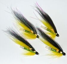 3 POSH TOSH SALMON FLIES TIED TO 25mm OR 35mm ALI OR COPPER TUBES