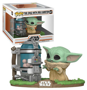 Funko POP! Deluxe Star Wars #407 The Child (aka Baby Yoda) With Egg Canister