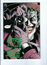 The Killing Joke, 1st print 1988, NM/M w/ White Pages Scans LOOK! WOW!