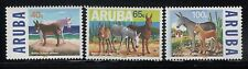 Aruba 1999 Endangered Animals Sc167 - 9 40c - 100c 3 Stamps MNH
