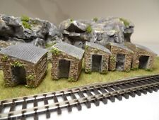 N GAUGE STONE TRACK SIDE OUTBUILDING SHED HUT LAYOUT SCENERY