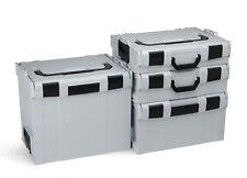 Bosch Sortimo 4 Set L-BOXX Gr1 - Gr4 avec Roller Système de Transport Innovant
