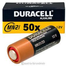 50x MN21 DURACELL Security Batterie A23 LR23A LRV08 V23GA K23A 12Volt