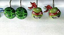 Teenage Mutant Ninja Turtles Shower Curtain Hooks Set of 12