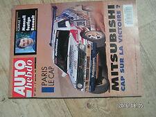 $$u Revue Auto Hebdo N°811 Mansell Renault  Paris-Le Cap Mitsubishi  Monte Carlo