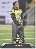 "KYLE PORTER 2016 LEAF ""1ST EVER PRINTED"" U.S. ARMY ALL-AMERICAN ROOKIE CARD!"