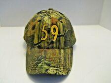 Mens JACK HAM #59 Cap Baseball Hat green Adjustable strap