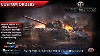 World of Tanks   Custom orders   Obj. 260, T-55a, Ace tanker(not bonus code) WoT