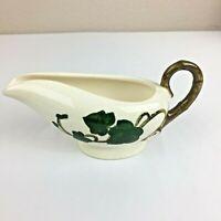 Vintage METLOX CALIFORNIA Creamer California Pottery Poppytrail Leaf Branch USA