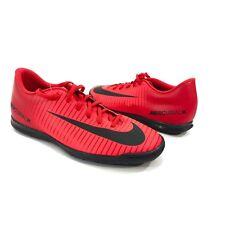 reputable site 03052 0069a Nike Mercurial X Vortex III 3 Men s 9 Red Black Indoor Soccer Cleats 831970-