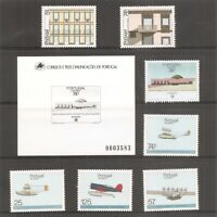 Portugal Azores SC # 363a Europa, 364 to 369, 369b  Year 1987 Stamps Set. MNH