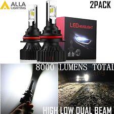 Alla Lighting UM-LED 9004 Headlight Bulb High Low Beam Super Bright White Lamp
