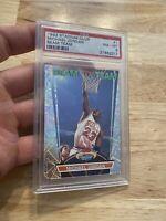 Michael Jordan Beam Team PSA 8 Stadium Club Power Insert Card #1 HIGH END RARE
