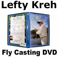 Lefty Kreh FLY CASTING DVD Instruction lessons for fly fishing rod reel anglers