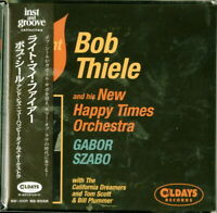 BOB THIELE AND HIS NEW HAPPY TIMES ORCHESTRA-LIGHT MY FIRE-JAPAN MINI LP CD C94