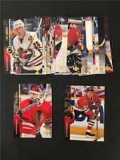 1994/95 Upper Deck Chicago Blackhawks Team Set 17 Cards