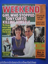 Weekend Magazine - Tony Curtis, Jim Peters, Peggy Mount   2nd Nov 1977