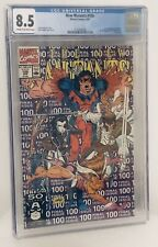New Mutants #100 CGC 8.5 Graded 1st Appearance X-FORCE Liefeld