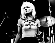 Debbie Harry Blondie New Wave Punk Singer 10x8 Glossy Music Photo Print Picture