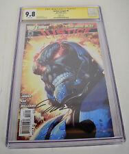 Justice League 6 DC New 52 9.8 CGC SS Signed Jim Lee 1:25 Ivan Reis Variant Dark